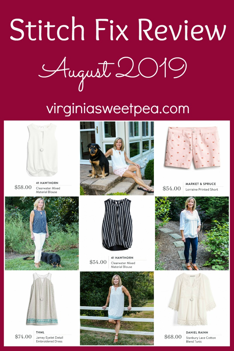 Stitch Fix Review for August 2019