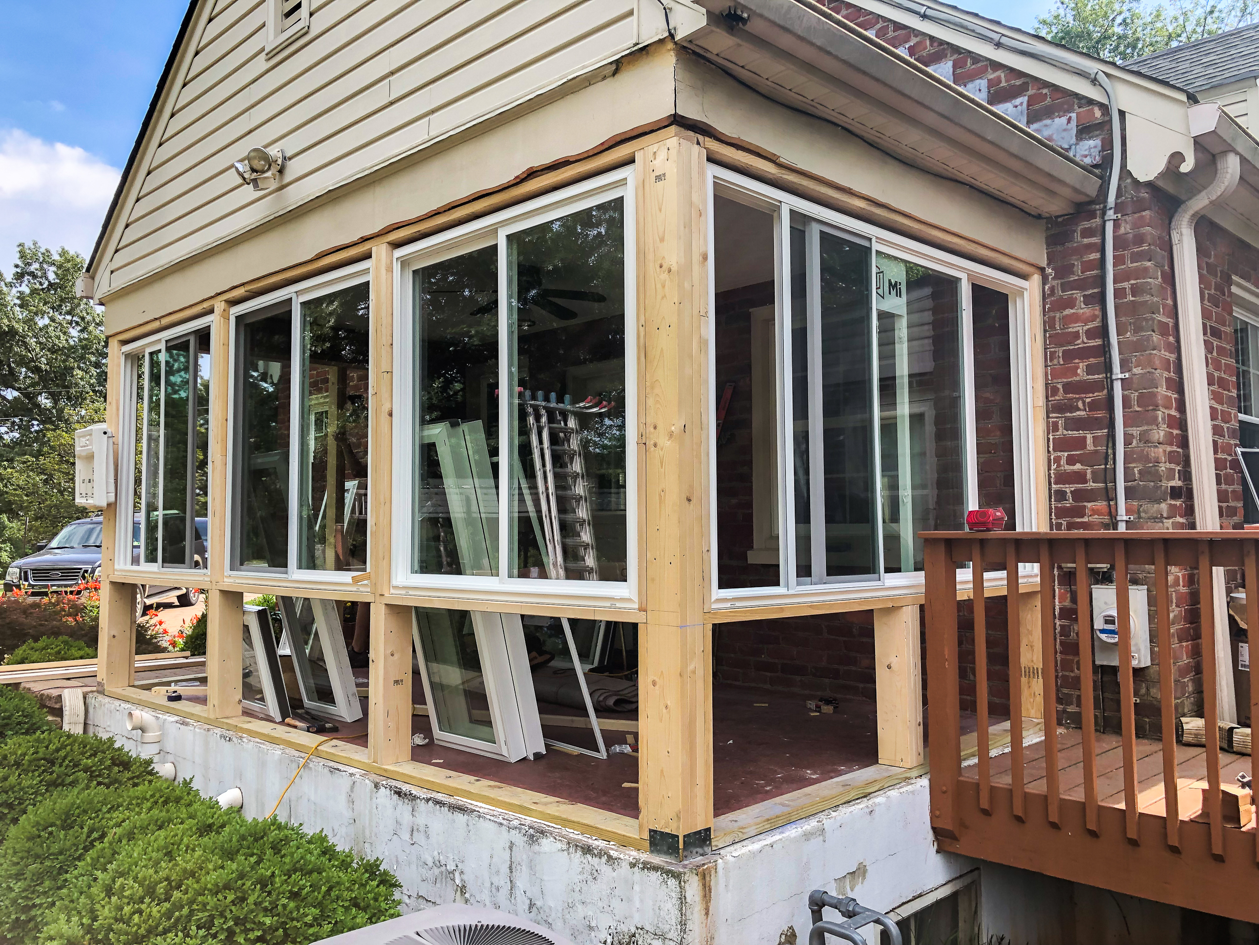 Converting A Screened Porch To A Sunroom Sweet Pea