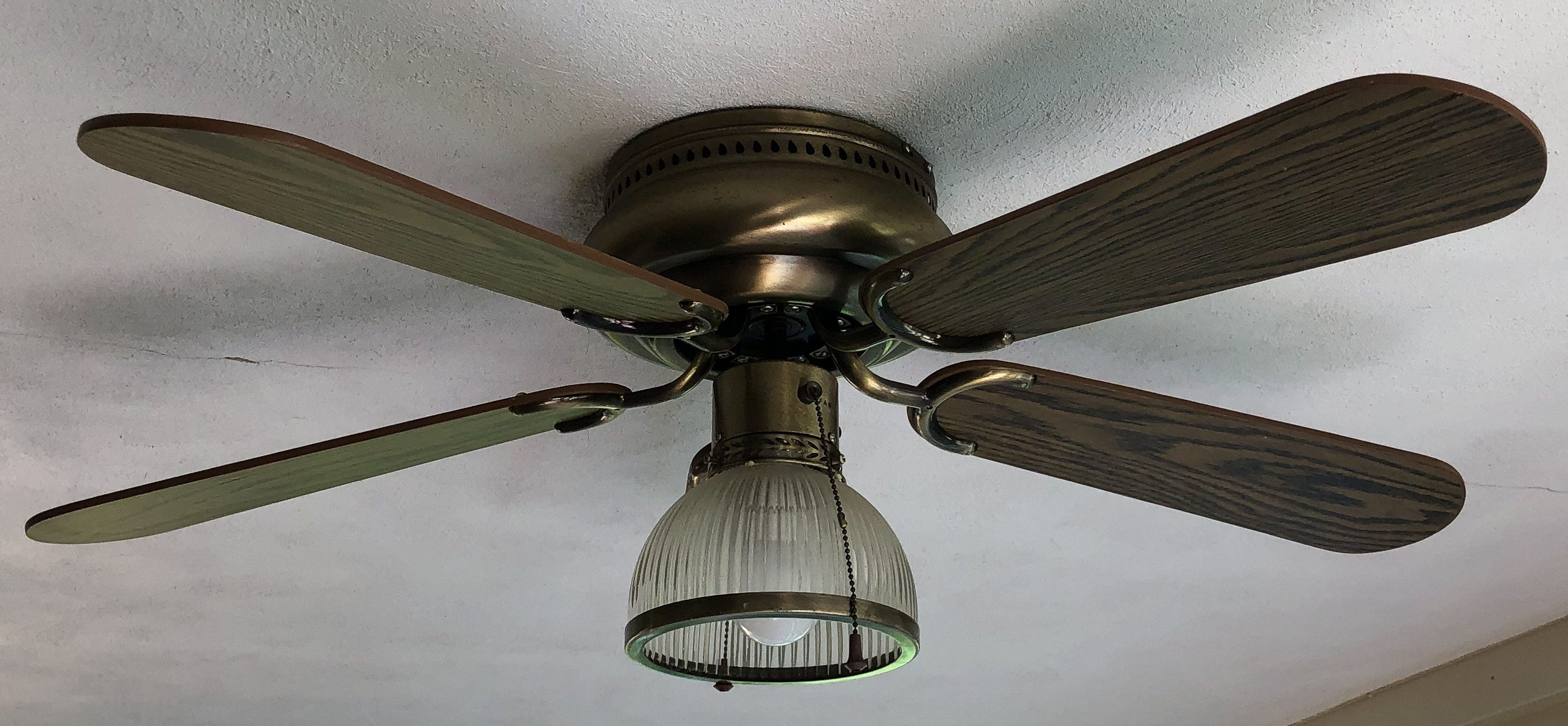 Old and ugly ceiling fan.