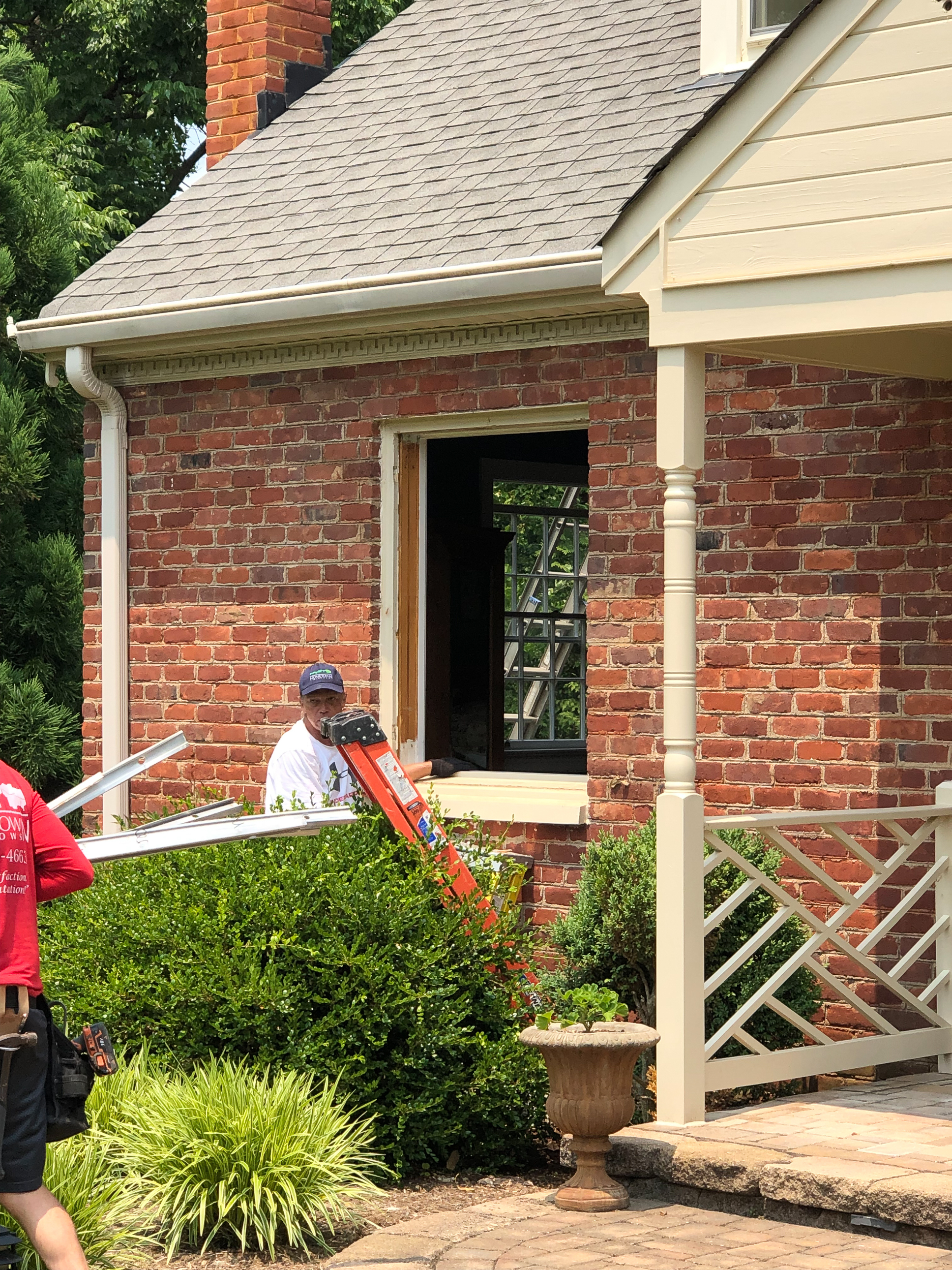 Window replacement by Hometown Windows in Lynchburg, VA