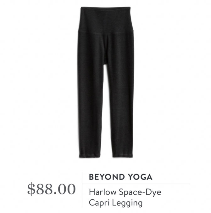Stitch Fix Beyond Yoga Harlow Space-Dye Capri Leggings