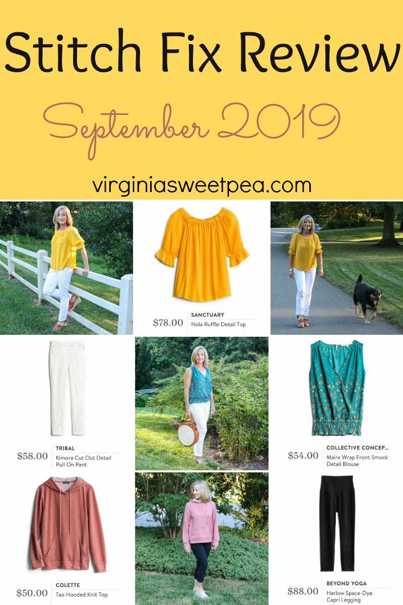 Stitch Fix Review for September 2019