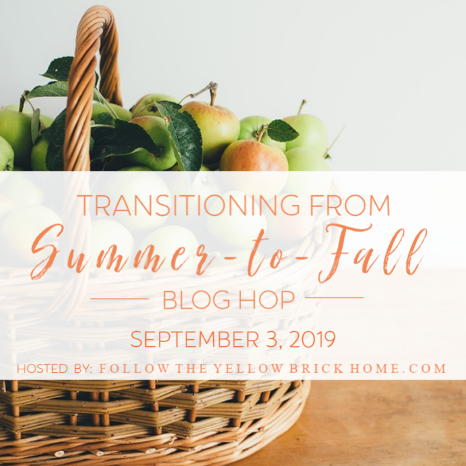 Transitioning from Summer to Fall Blog Hop