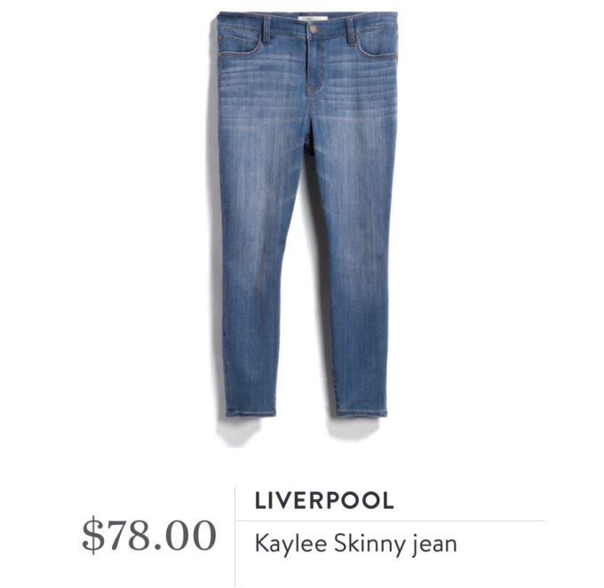 Liverpool Kaylee Skinny Jean