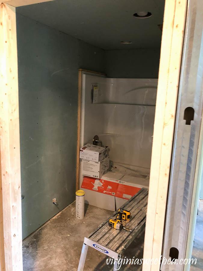 Smith Mountain Lake basement project