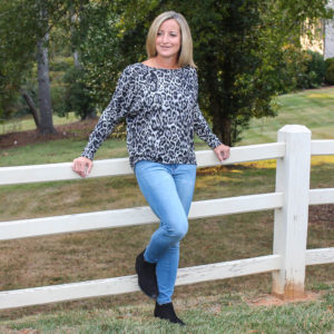 Stitch Fix Review for October 2019 - Fortune + Ivy Alannis Dolman Sleeve Knit Top
