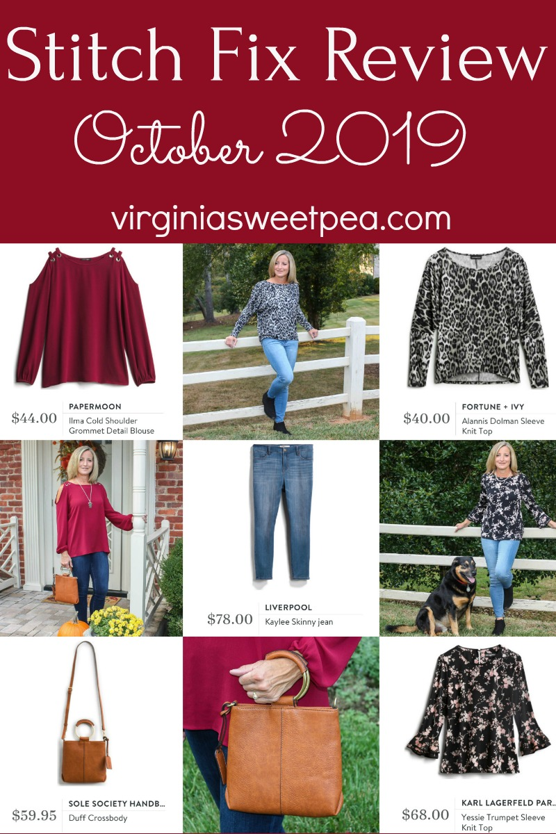 Stitch Fix Review for October 2019 - See styles perfect to wear in fall.  #stitchfix #stitchfixreview #stitchfixfall via @spaula