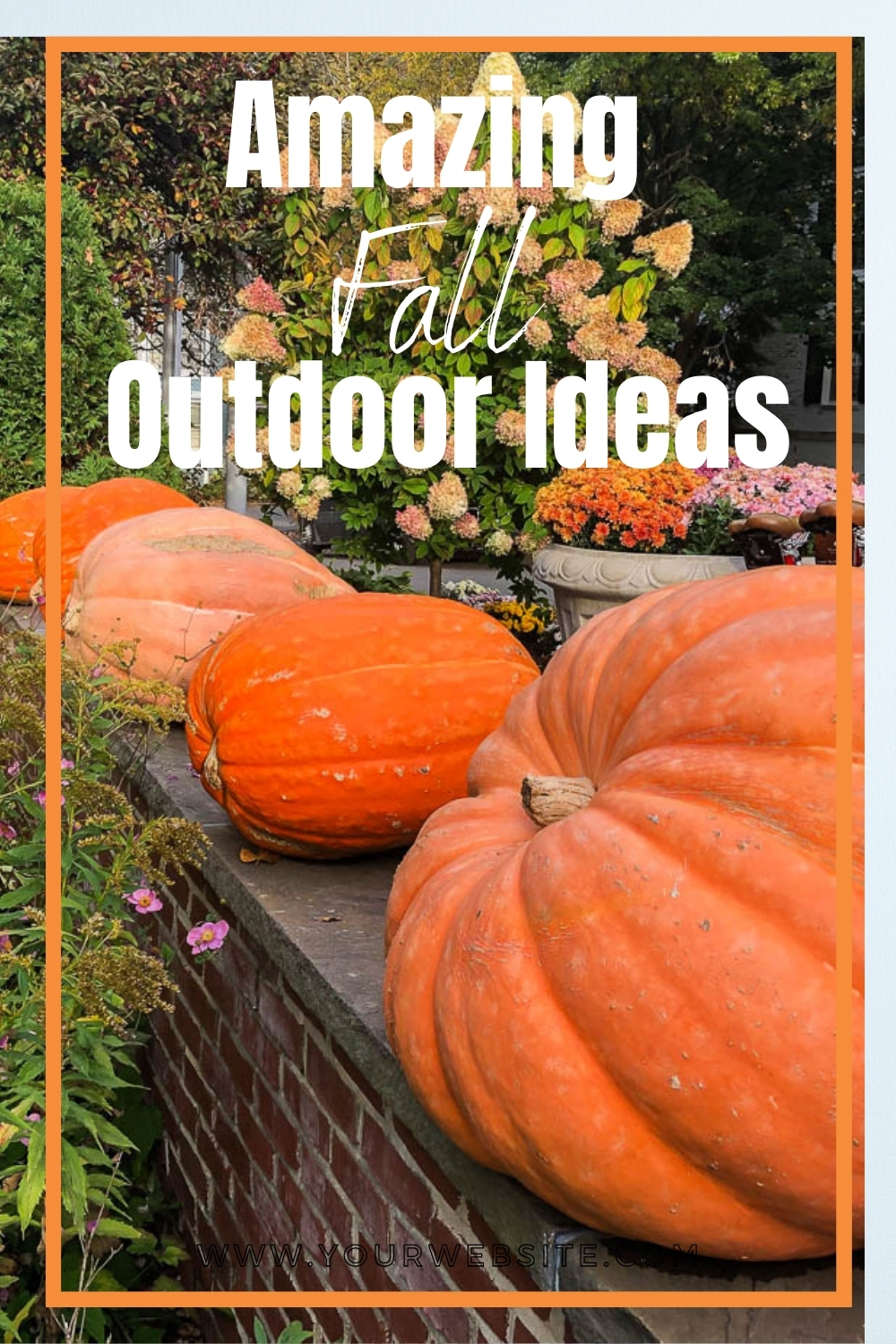 Amazing Fall Outdoor Ideas - Get ideas for creating amazing fall displays for your porch, house, and yard. via @spaula