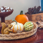Decorating with Vintage for Fall