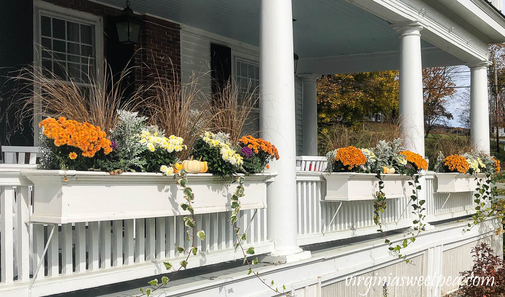 Window Boxes at the Kedron Valley Inn in Vermont