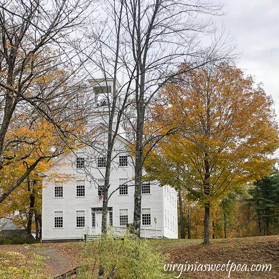 Old School in Kedron Valley, Vermont
