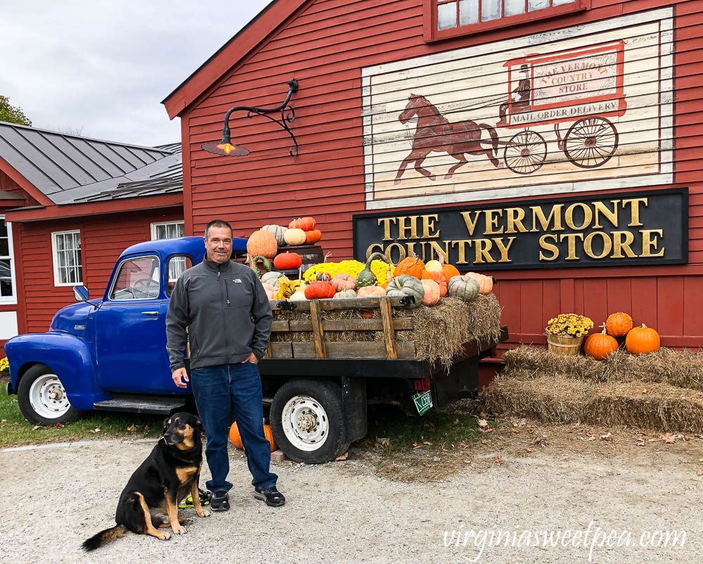 The Vermont Country Store in Fall