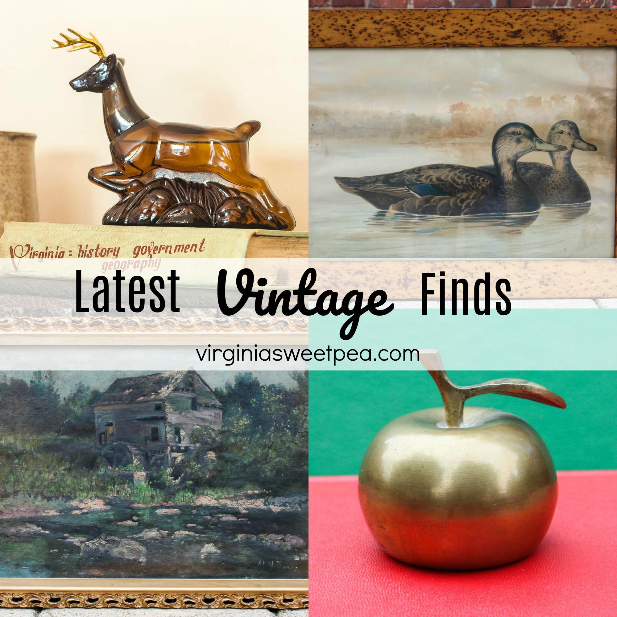 Latest Vintage Finds