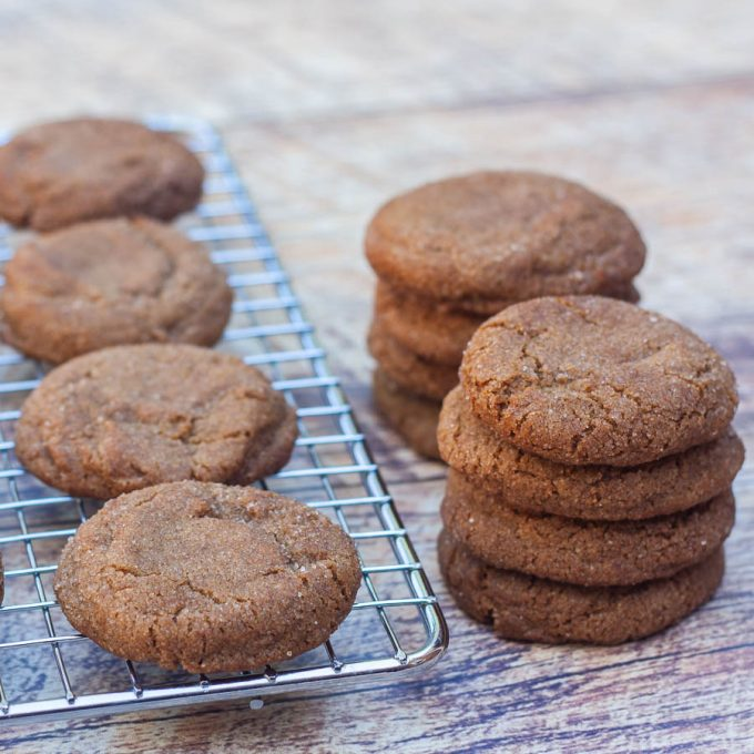 Really Good Gingersnap Cookie Recipe