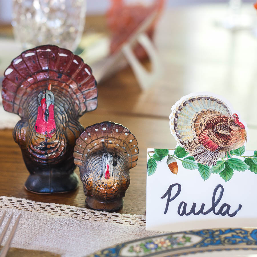 Thanksgiving Place Setting Ideas