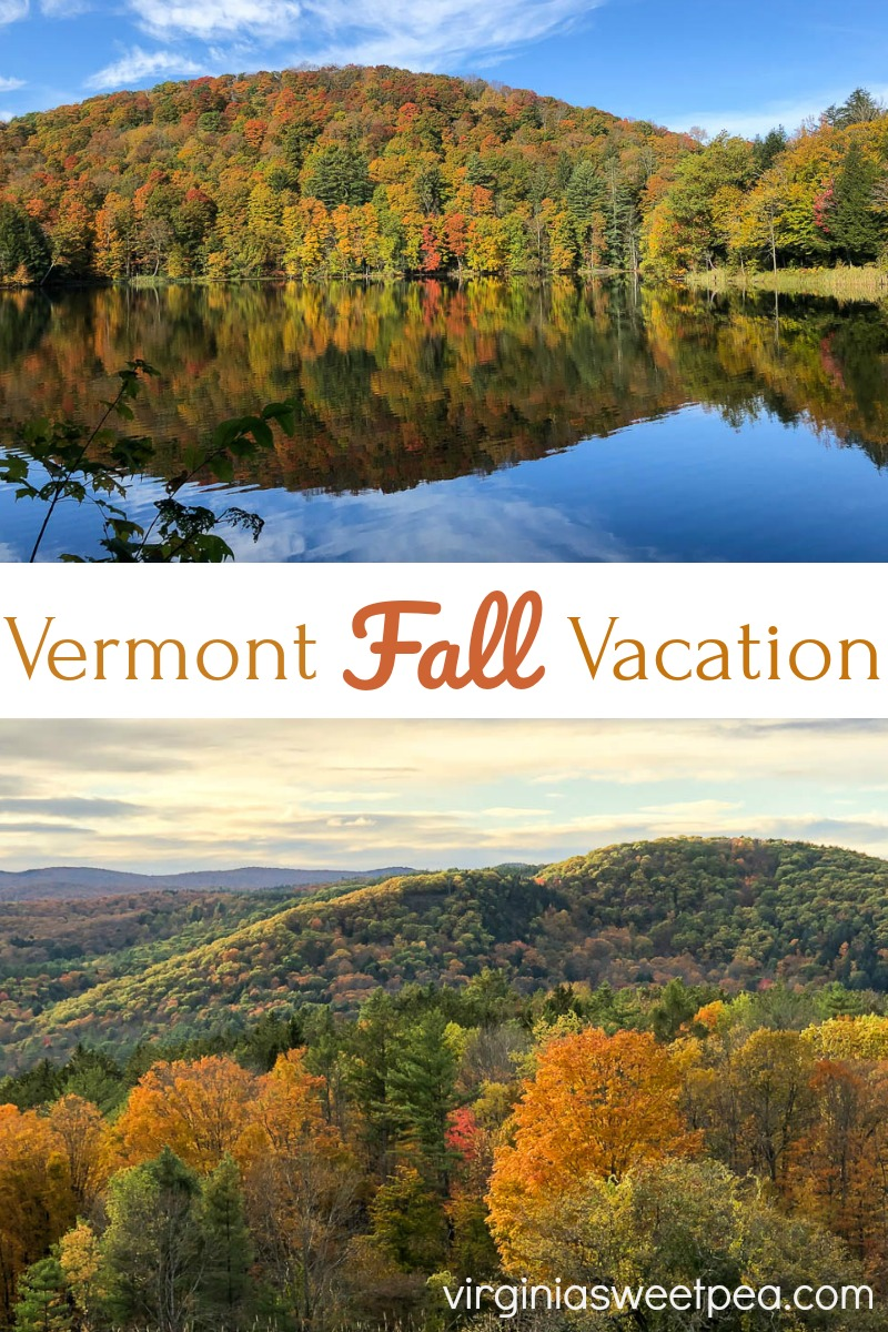 Vermont Fall Vacation - See beautiful fall scenes from a Vermont vacation and get tips for things to see and do in Woodstock, Vermont. #fallinvermont #travel #woodstockvermont