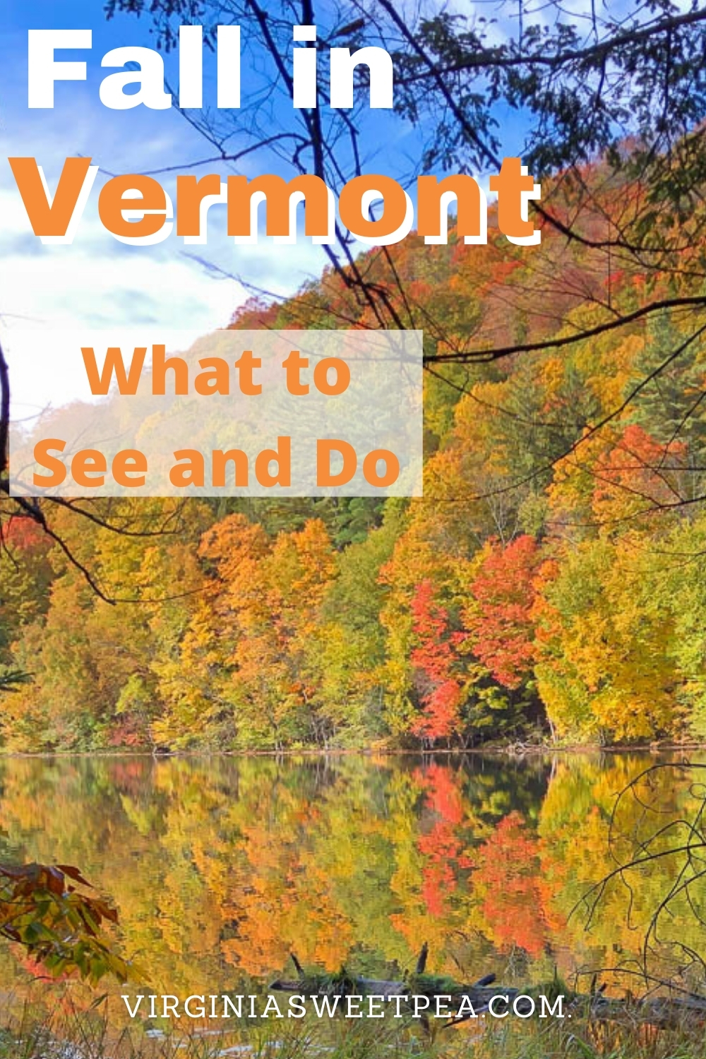 What to See and Do in Woodstock Vermont in Fall - There is nothing like seeing Vermont in fall with its amazingly colorful fall foliage.  Get ideas for things to see when traveling to Woodstock, VT, one of Vermont's most beautiful towns.  #woodstockvt #vermont #vermontfall via @spaula