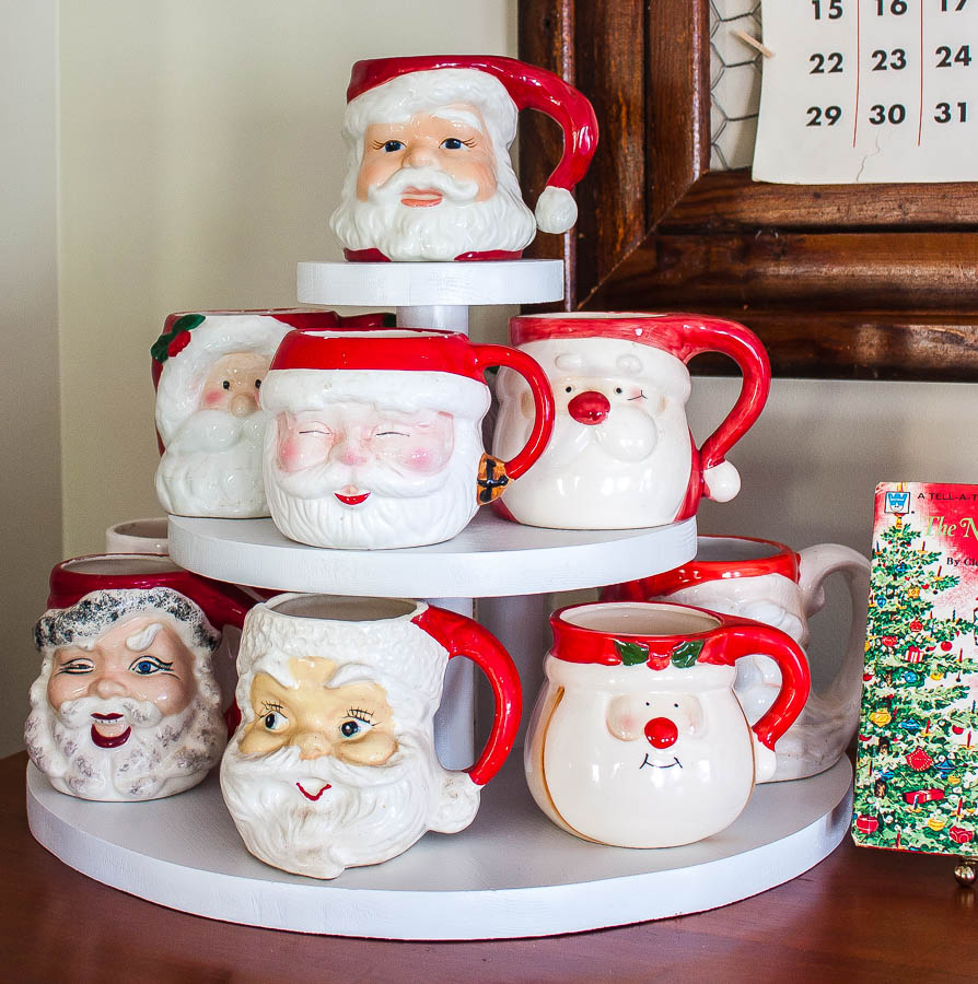 Santa Mug Collection