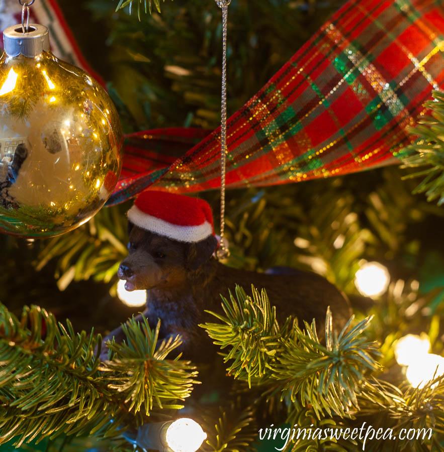 Sherman Skulina Santa Claus Christmas Ornament