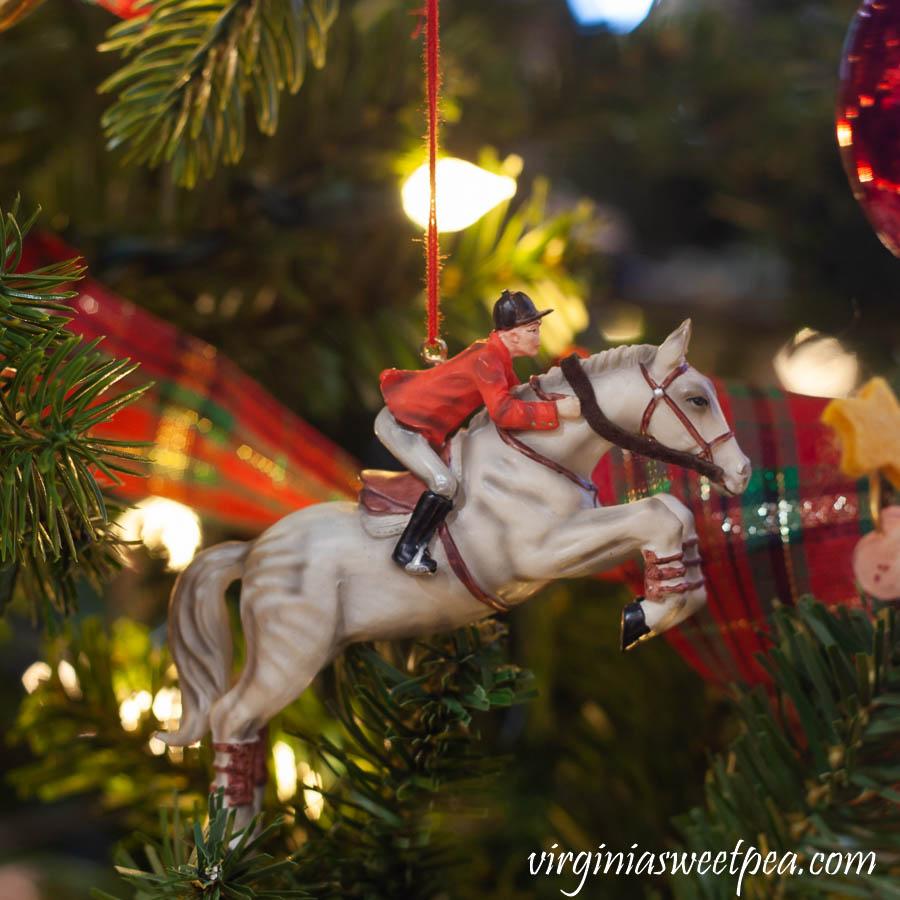 Hallmark Equestrian Christmas Ornament