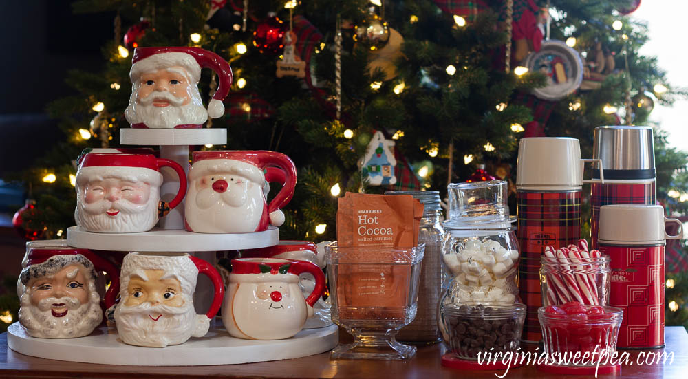 Hot Chocolate Bar with Vintage