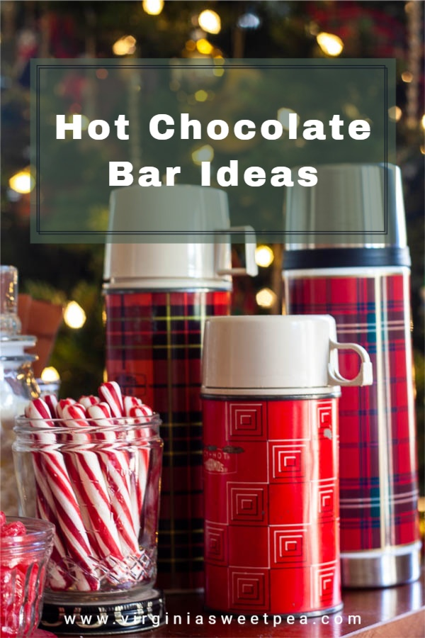 Hot Chocolate Bar Ideas - Get amazing ideas for setting up a hot chocolate bar for a party or for a gathering of family or friends. via @spaula