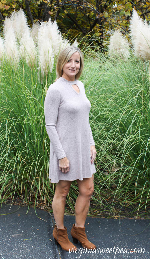 Stitch Fix Fortune + Ivy Caressa Keyhole Hacci Knit Dress