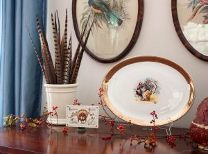 Decorating for Thanksgiving with Vintage