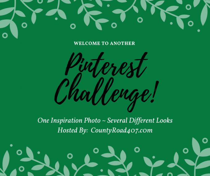 Pinterest Challenge Graphic for November and December
