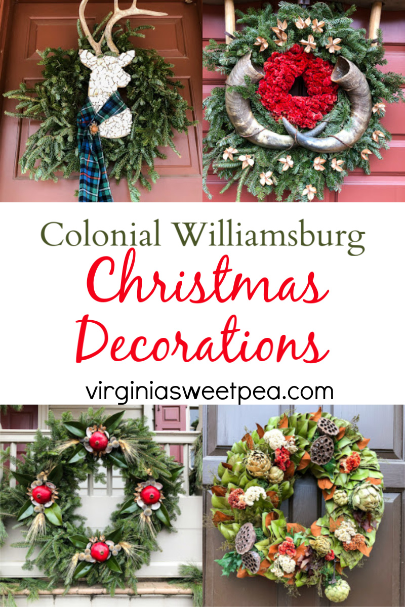 Colonial Williamsburg Christmas Decorations