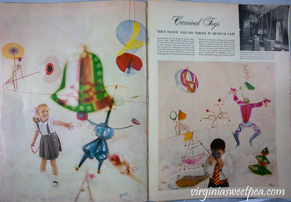 Carnival Toys article from December 25, 1950 Life Magazine