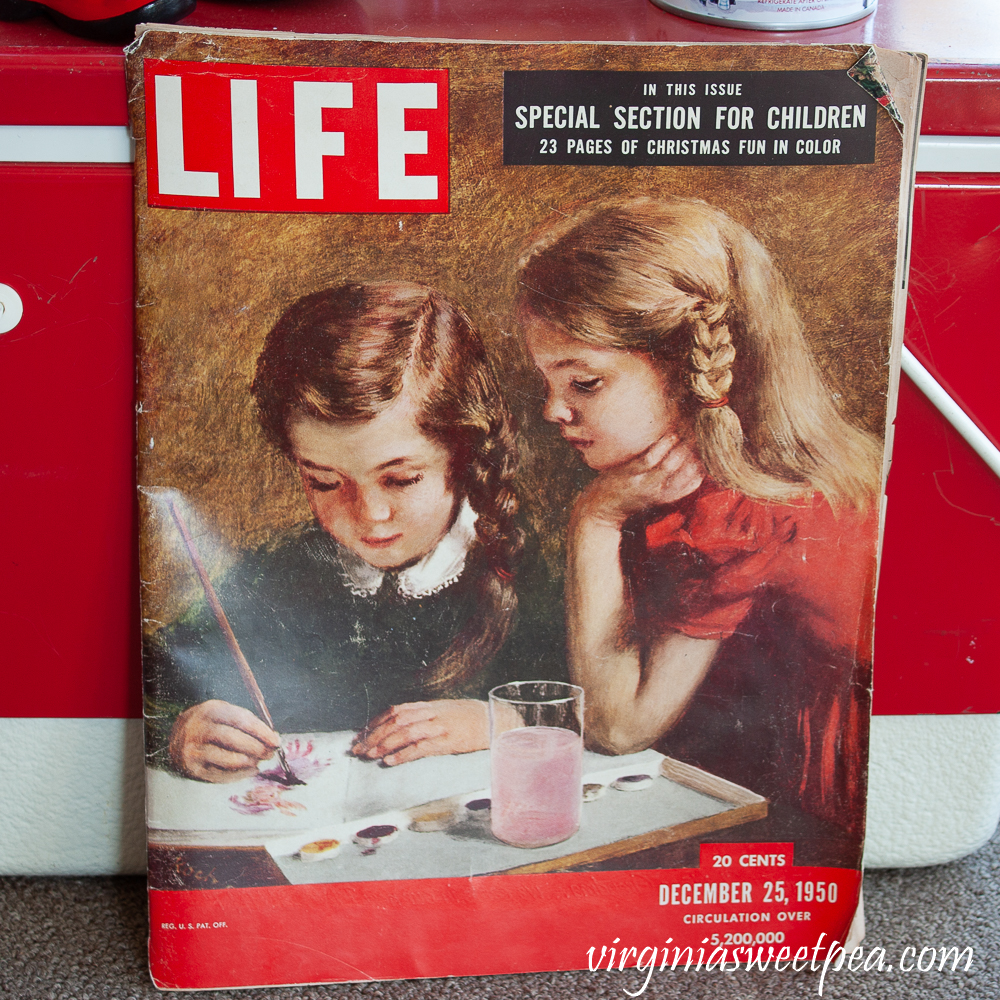 Life Magazine cover for December 25, 1950