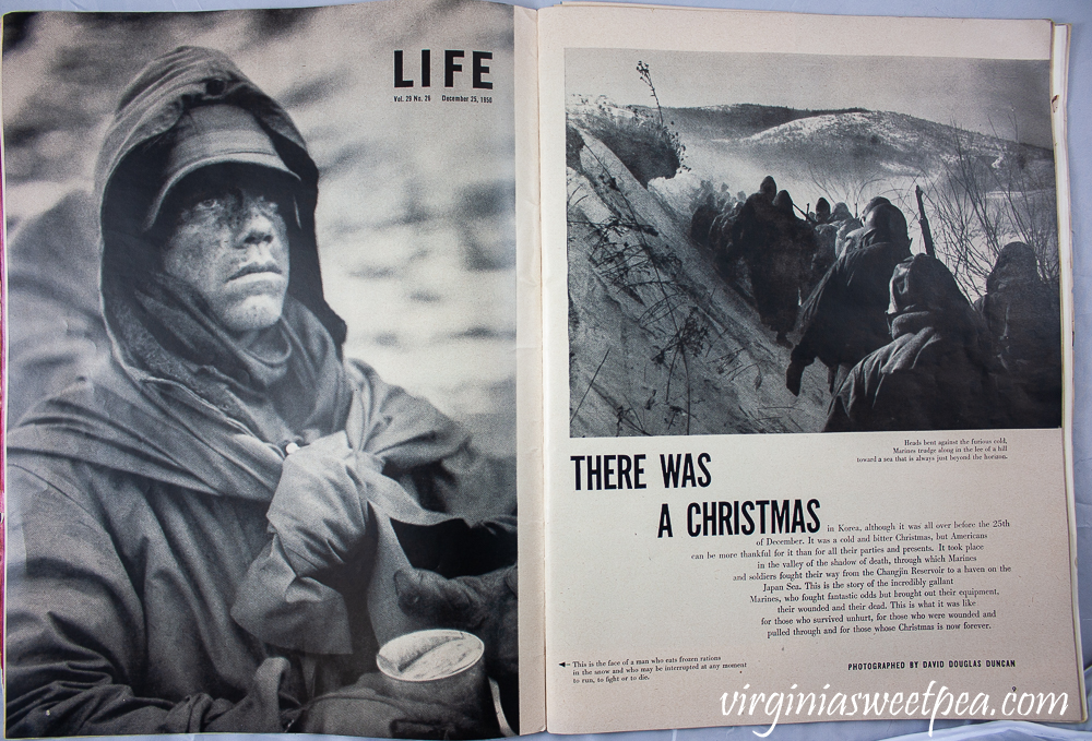Korean War article from Life Magazine December 25, 1950
