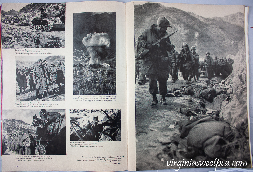 December 25, 1950 Life Magazine - Article on Korean War