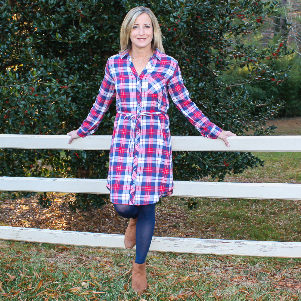 Stitch Fix Review for December 2019 - Market & Spruce Izara Shirt Dress