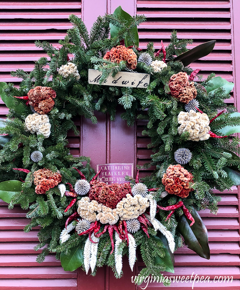 Colonial Williamsburg Christmas Wreath