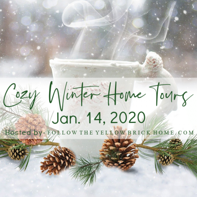 Cozy Winter Home Tours - Tour 22 homes decorated for winter and get ideas for your own winter decor.