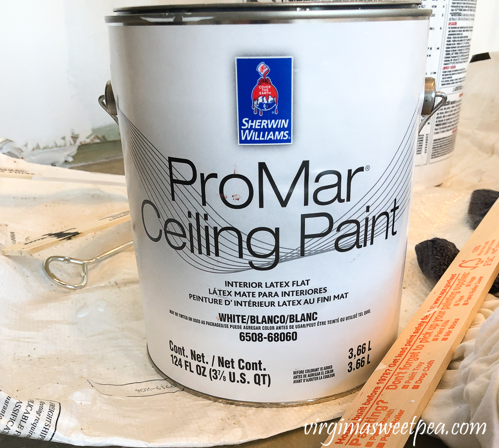 Sherwin Williams ProMar Ceiling Paint in Ceiling White