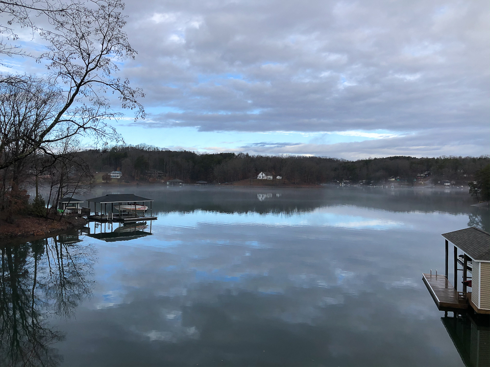 View from a Smith Mountain Lake home