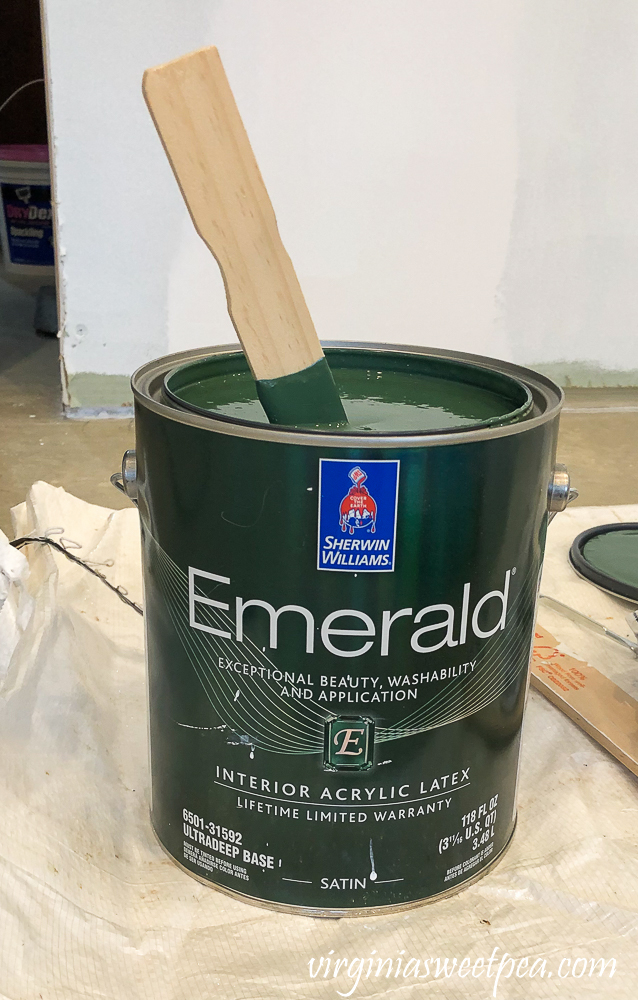 Sherwin Williams Emerald Paint in Rock Garden