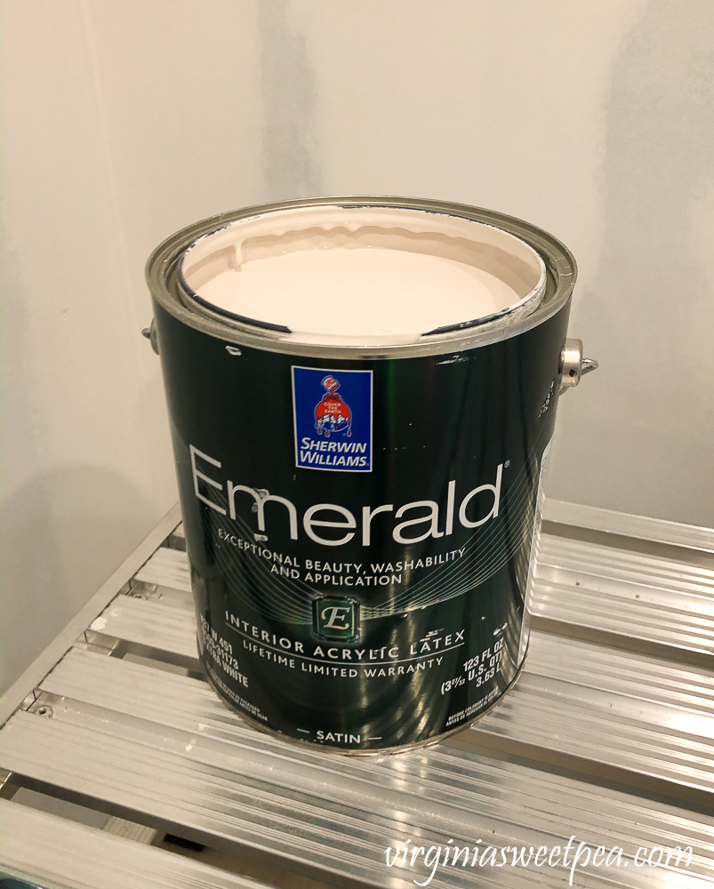 Sherwin Williams Emerald Paint in Cultured Pearl