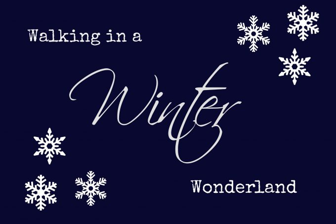 Walking in a Winter Wonderland Free Printable