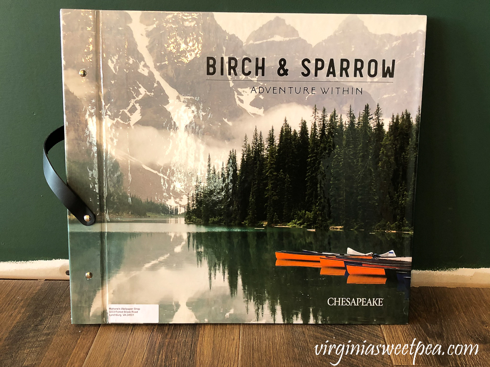 Birch & Sparrow Adventures Within Chesapeake Wallpaper Book