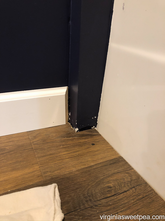 Installing Baseboard in a room