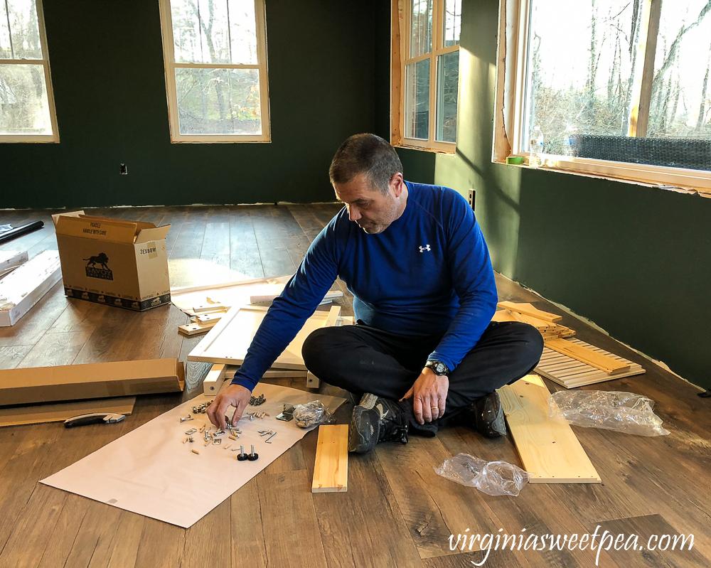Putting together an Ikea Hemnes Raettviken sink