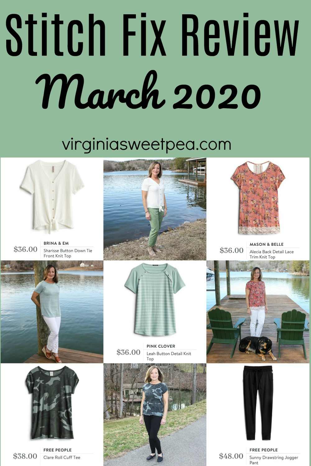 Stitch Fix Review for March 2020 - Fix #79 - See the styles sent for me to try for March.  #stitchfix #stitchfixreview #stitchfixstyle via @spaula