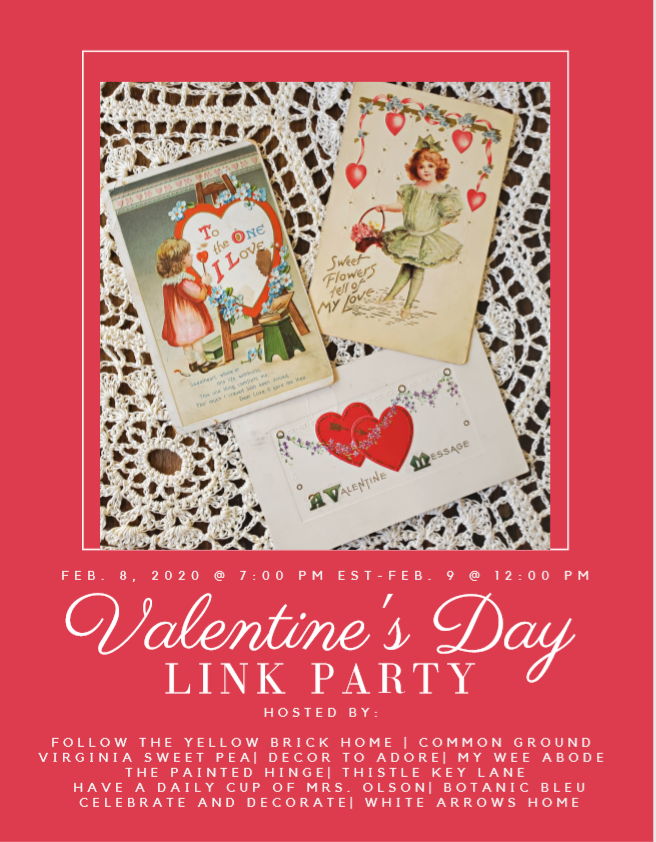 Valentine's Day Link Party Graphic