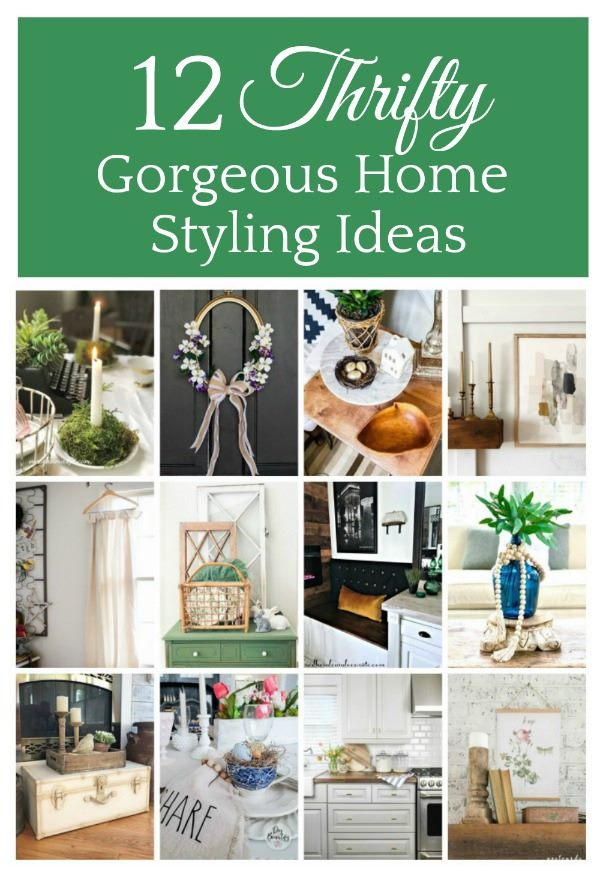 Thrifty Home Styling Ideas