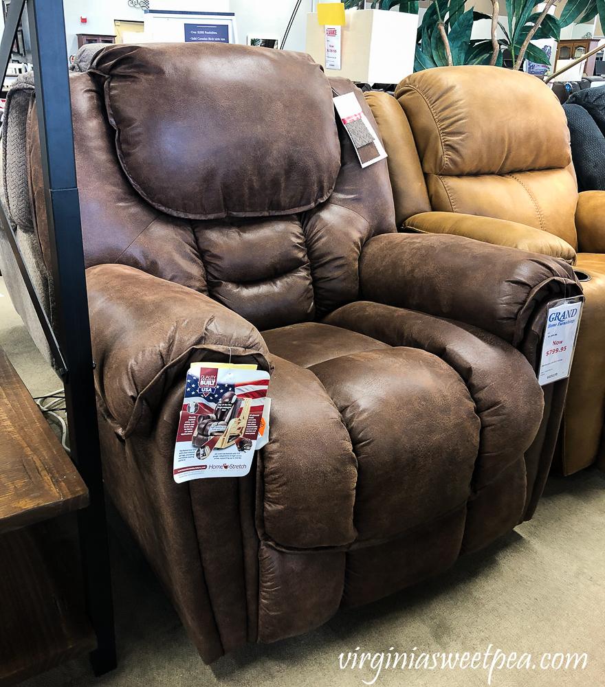 Homestretch recliner