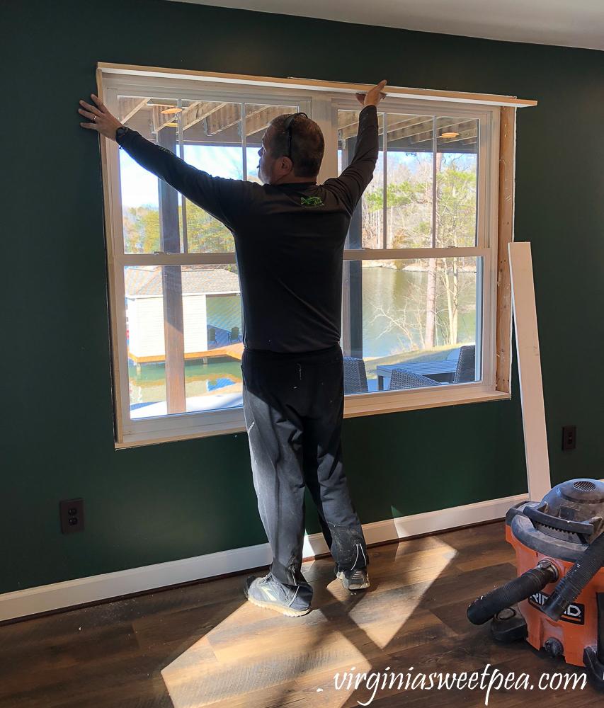 Framing a window